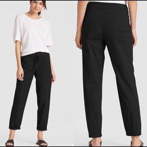 Eileen Fisher Black Drawstring Pants